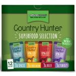 Nature's Menu Dog Country Hunter Pouch Multipack -12x150 gram
