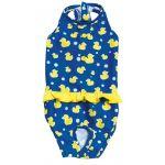 Croci Zwempak Moby Duck Blauw / Geel -30 cm