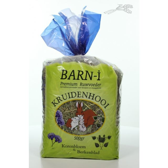 BARN-I Kruidenhooi Korenbloem + Berkenblad -500 gram