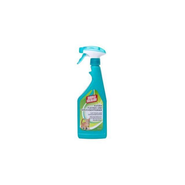 Simple Solution Stain & Oder Vlekverwijderaar Kat - 750 ml