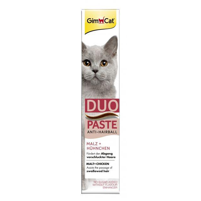 Gimcat Anti-Hairball + Kip Pasta  -50 gram