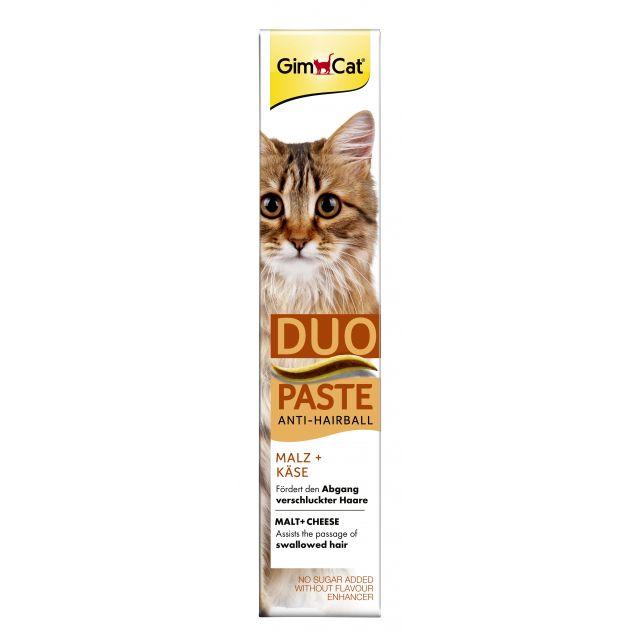 Gimcat Anti-Hairball + Kaas Pasta  -50 gram