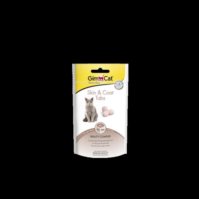 Gimcat Skin & Coat Tabs -40 gram