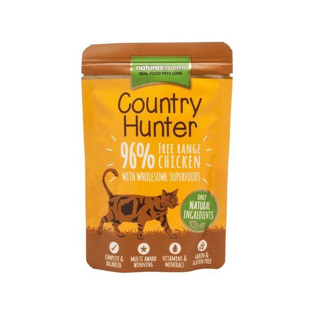 Nature's Menu Cat Country Hunter Pouch Kip & Hart - 85 gr