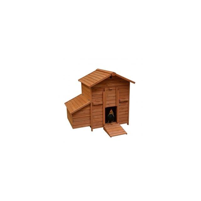 Woodland Kippenhok Goldie Bruin -121x81,6x109cm