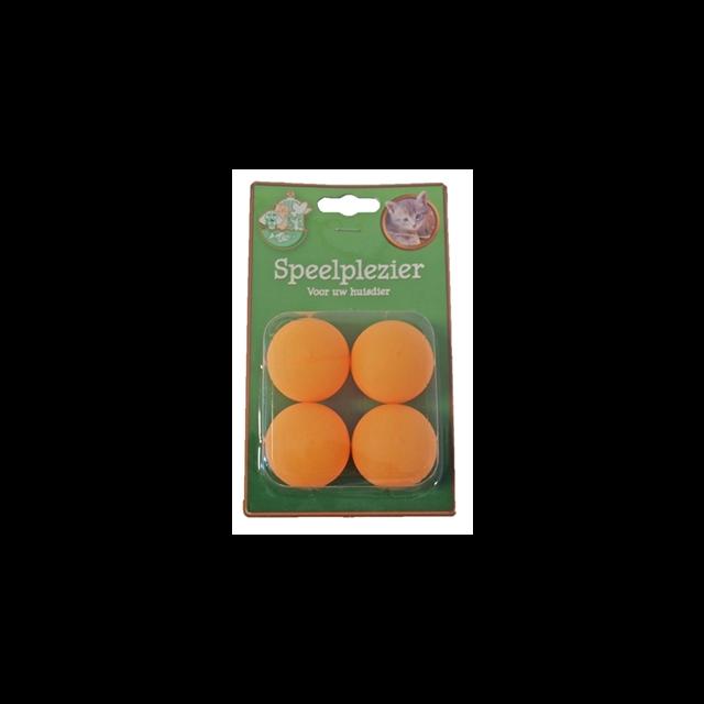 Ping Pong Ballen - 4 stuks