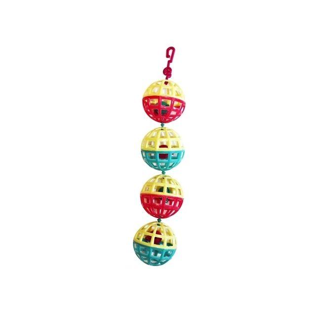 Happy Pet Fun At The Fair Multi Ball Toy - 20x4x4 cm