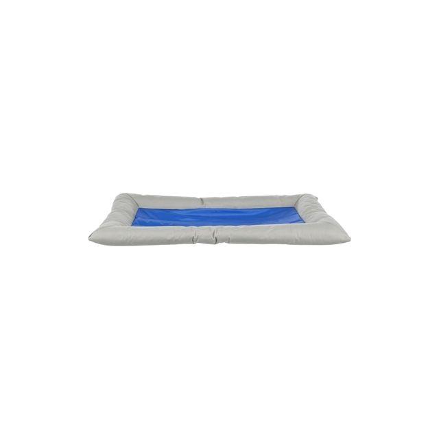 trixie hondenkussen cool dreamer grijs / blauw 90X55 CM