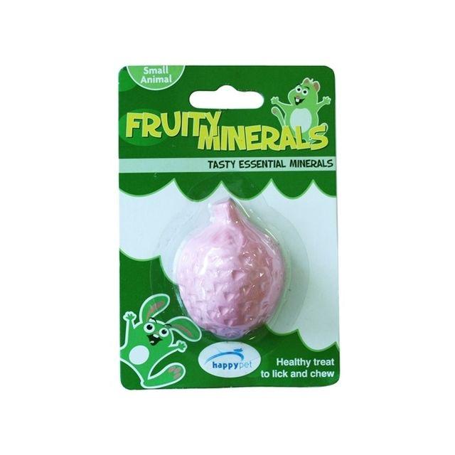 Happy Pet Fruity Mineral Aardbei - 5,5x4,5x2,3 cm