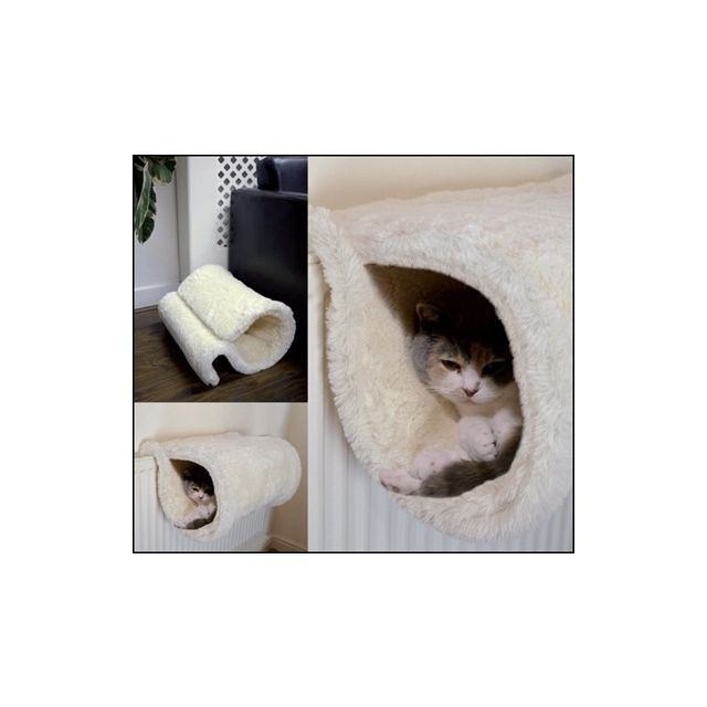 Rosewood Radiator Tunnel voor Kat Wit 46x32x28 cm