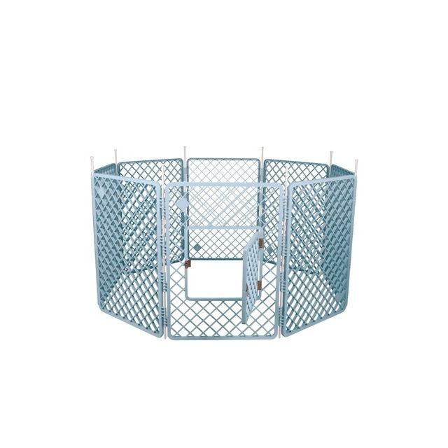 Puppyren - 8 Panelen Blauw Dia - 160 cmx86 cm