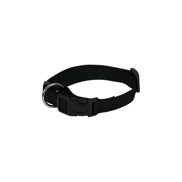 Martin Sellier Halsband Basic Nylon Zwart 20 Mmx40-55 cm