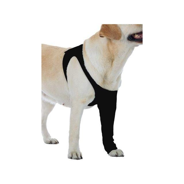 Suitical Recovery Sleeve Hond Zwart - XL 80-104X41 cm