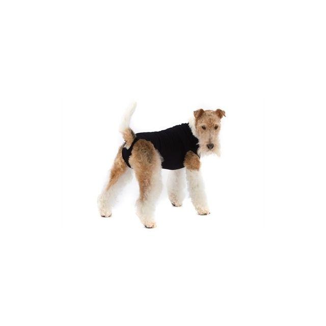 Suitical Recovery Suit Hond Zwart - M 55-69 cm