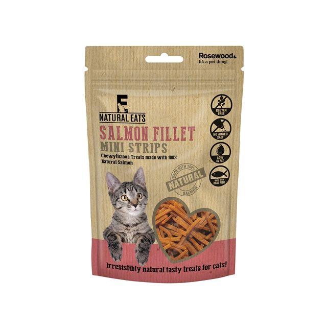 Rosewood Zalm Fillet Mini Strips Kat -50 gram