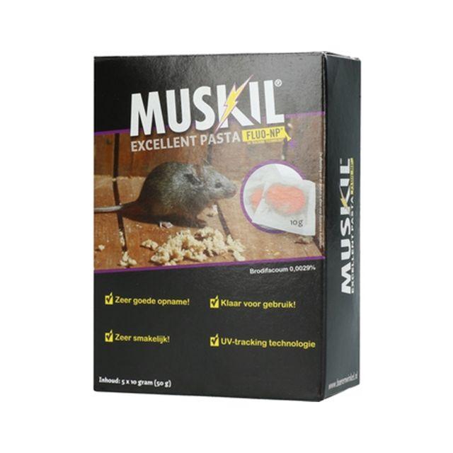 muskil excellent pasta muis 5X10 GR
