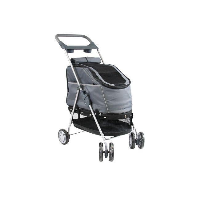 petcomfort buggy grijs 44X60X94 CM