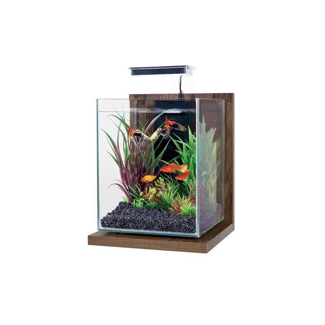 Zolux Aquarium Kit Jalaya Walnut Bruin -22x23x34,5 cm / 9,3 ltr