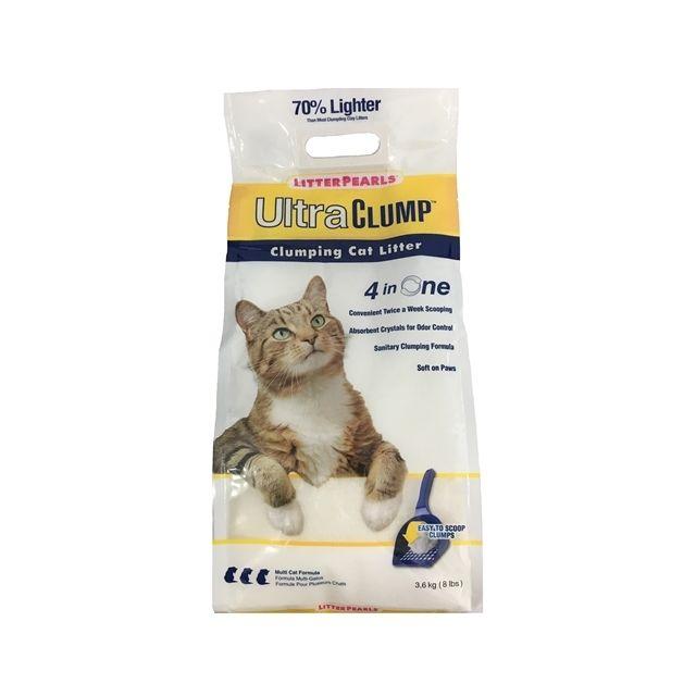 Litter Pearls Ultra Clump - 4 x 3,6 kg