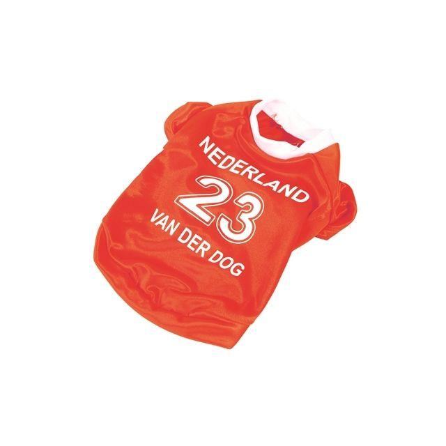 oranje voetbalshirt 40 CM