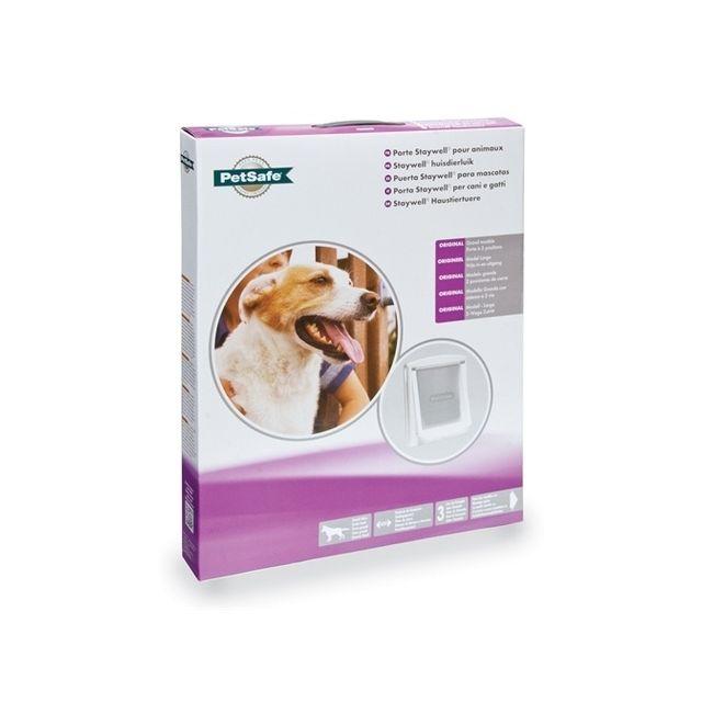 Petsafe Hondenluik Large Wit & Transparant 760
