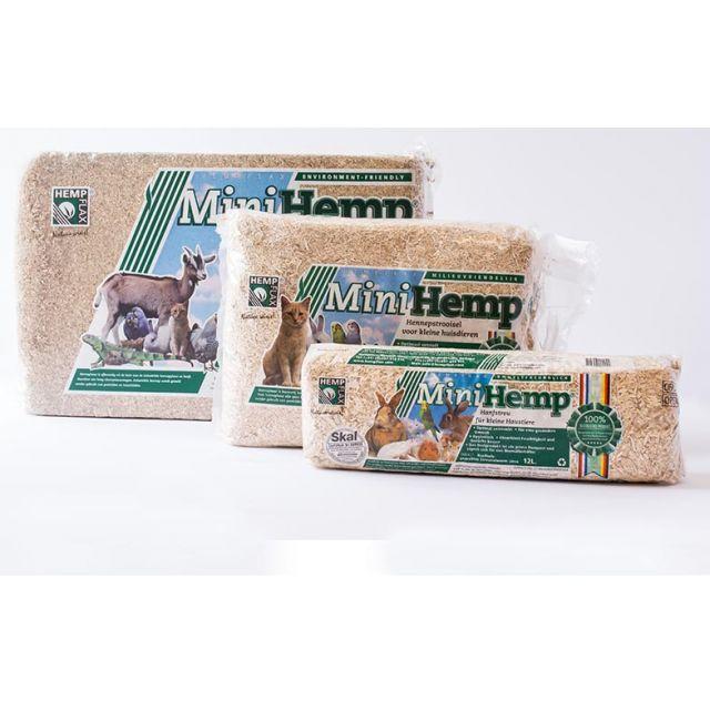 Minihemp Hennepstrooisel -100 ltr