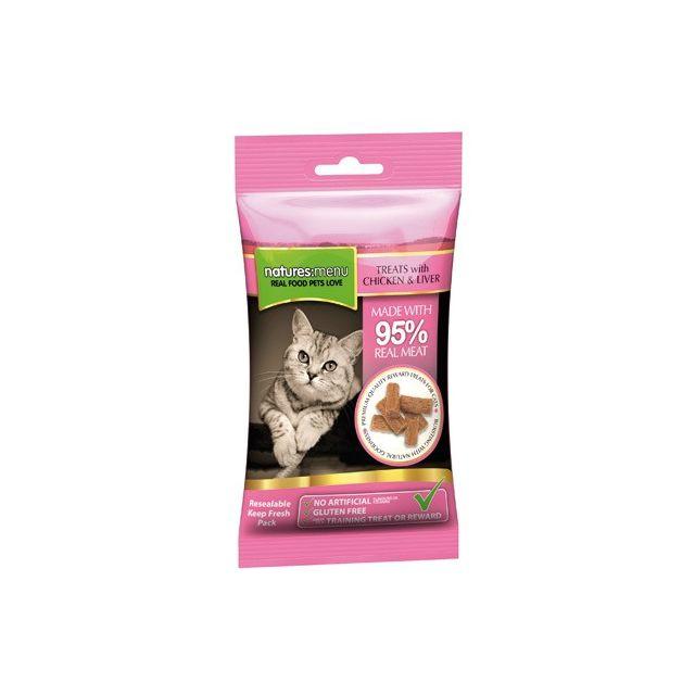 Natures Menu Cat Treats Chicken & Liver 12x- 60 gr
