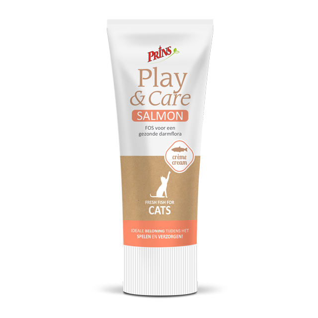 Prins Play & Care Cat Salmon -75 gram