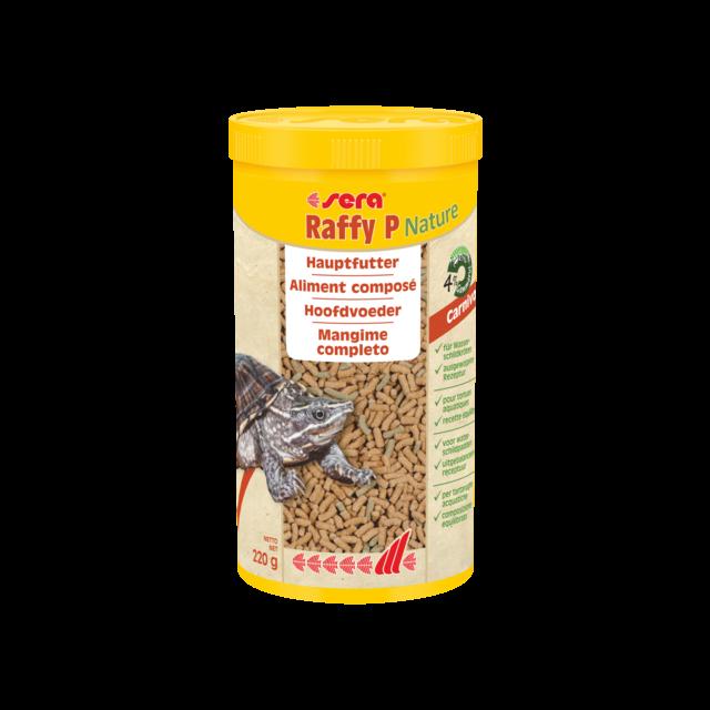 Sera Raffy P  Hoofdvoer voor Waterschildpadden- 1000 ml