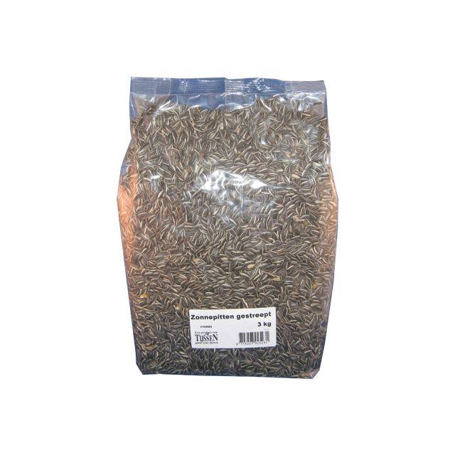 Zonnebloempitten Gestreept - 2,5 kg